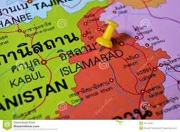 Islamabad Map Islamabad Pakistan Map Stock Photo Image Of Islamabad 46119042