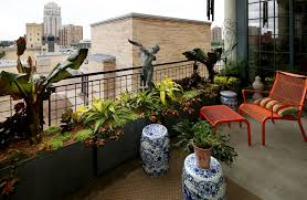 modern balcony planters urban oasis balcony gardens that prove green is always in style