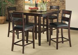 dining room high tables v watts furniture pendleton counter height table w 4 side chairs