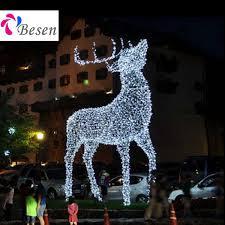 reindeer sleigh motif