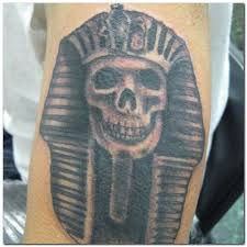 pharaoh skull tattoo tattooimages biz