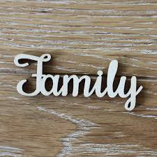 family wood 24pcs 100x40mm wooden family word letters alphabet script for