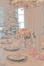 White Christmas Table Decorations Uk by Best 25 Pink Christmas Decorations Ideas On Pinterest Pink