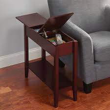Small Side Tables by Coffee Table Narrow Coffee Table With Storage Intended For Nice