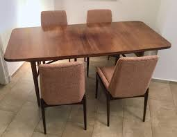 british extendable tulipwood dining table u0026 8 chairs by hamilton