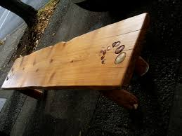 just completed and picked up redwood bench 7 foot long and has a