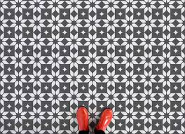 why moroccan tile print vinyl flooring is so right