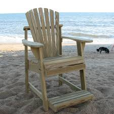 weathercraft designers choice treated balcony adirondack chair