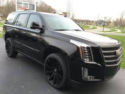 black on black cadillac escalade 2016 cadillac escalade premium black package only 1500 one
