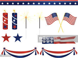 american decorations vector getty images