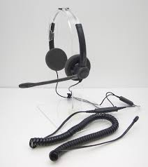 plantronics sp12 qd binaural headset for avaya mitel hybrex
