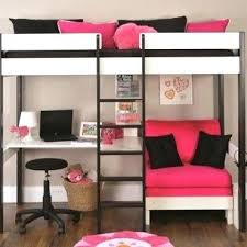 Loft Bed With Futon And Desk Bunk Bed With Desk Photos Of Metal Frame For Loft Bed With Futon