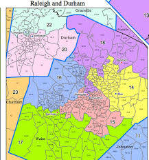 Nc State Campus Map Redistricting General Assembly Releases Nc Senate Districts