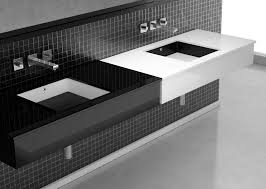 Modern Bathroom Vanities With Tops by Glass Vanity Top Integrated Sink Others Beautiful Home Design
