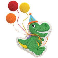 1st Birthday Cake Dino Celebrates The 1st Birthday Cake Wilton