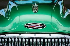 1953 buick ornament emblem reger photographic