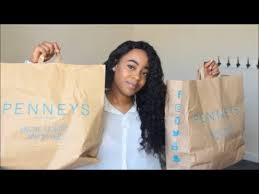 the back of penneys new haircut primark penneys haul august 2017 back to school pick ups youtube