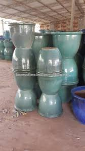 Glazed Ceramic Pots Stock Outdoor Glazed Ceramic Pottery Inventory For Bulk Glazed