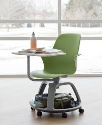 Desk Chair With Wheels Ideo And Steelcase Unveil A Desk For The Future Of Teaching