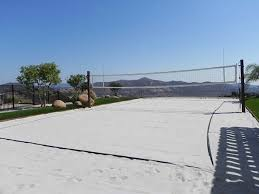 Backyard Sand How To Construct A Volleyball Court