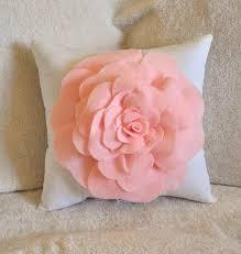 Nursery Decorative Pillows Light Pink Throw Pillows