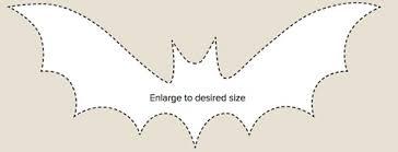 diy halloween decorations how to make a bat garland for halloween