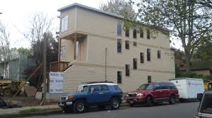 skinny house construction continues the portland chronicle