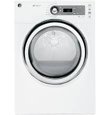 Propane Clothes Dryers Ge 7 0 Cu Ft Capacity Gas Dryer With Steam Gfds140gdww Ge
