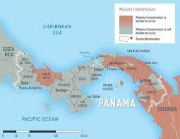 Cdc Malaria Map Panama Cdc Yellow Book