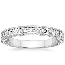milgrain engagement ring engraved pave milgrain ring brilliant earth
