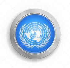 United Nation Flag United Nations Flag Button U2014 Stock Vector Emirmd 6537313