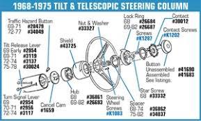 1968 corvette steering column corvette parts c3 1969 1975 tilt and telescopic steering column
