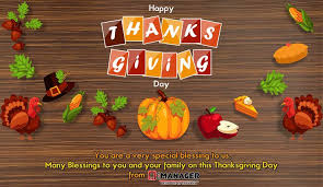 happy thanksgiving day from q manager q manager