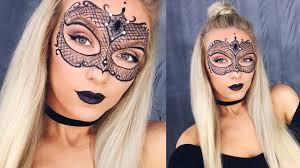 skin mask halloween masquerade mask makeup halloween tutorial youtube