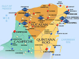 Map Of Yucatan My Country Page 5 Hobbies Fearless Assassins