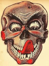 vintage halloween images monster brains vintage paper halloween masks