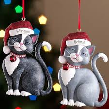 Christmas Decorations Made From Metal by 686 Best Cat Christmas Ornaments Images On Pinterest Christmas