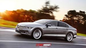 volkswagen passat coupe photo rendering this is what the next volkswagen passat cc could