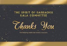 barbados independence gala