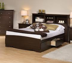 Bookcase Storage Beds Popular Living Rooms Brilliant And Attractive Queen Storage Bed