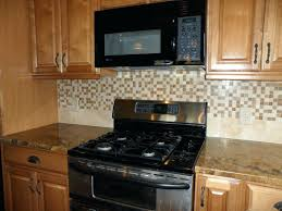 tile backsplash mosaic kitchen metal stone mosaic stone mosaic