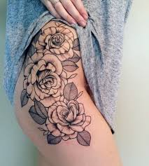 Male Flower Tattoos - flower leg tattoo 8 best tattoos ever