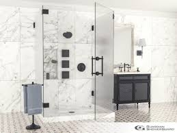 custom glass shower doors u0026 enclosures flower city glass