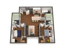 virtual floor plans notre dame student apartments university edge