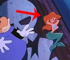 ariel cameo mermaid goofy movie easter eggs