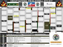 Calendrier Fdration Franaise De Calendrier Blackball Saison 2016 2017 Fédération Française De Billard