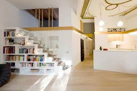 living room living room wooden furniture with white wooden stairs