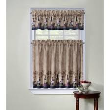Hypoallergenic Curtains Burlap Kitchen Curtains Wayfair