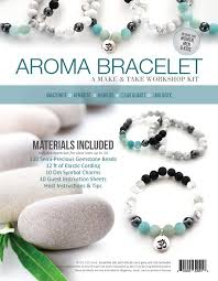 bracelet make images Aroma bracelet make take workshop kit amazonite eo tools jpg