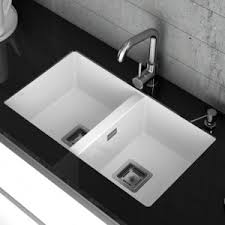 Double Bowl Kitchen Sinks Wayfaircouk - Double bowl undermount kitchen sinks